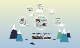 My Action Plan: Aboriginal Equality