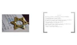 Copy of Judaism Project