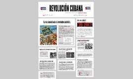 Copy of REVOLUCIÓN CUBANA