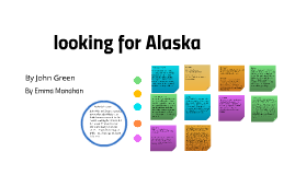 Copy of looking for Alaska By Emma