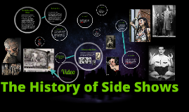 Copy of The History of Side Shows