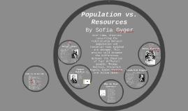 Population vs. Resources