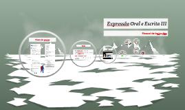 Expressão Oral e Escrita