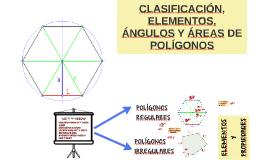 CLASIFICACIÓN, ELEMENTOS, ÁNGULOS Y ÁREAS DE POLÍGONOS