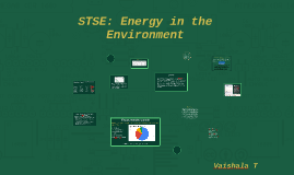 STSE: Energy in the Environment