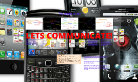 Chapter 1: Lets Communicate!