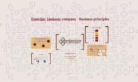 Enterijer Jancovic company - business principles