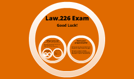 Business Law Exam Tips
