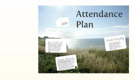 Attendance Plan