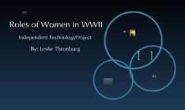 Women in world war 2