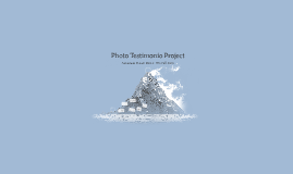 Photo Testimonio Project