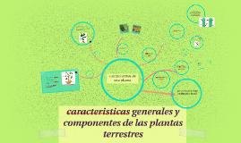 caracteristicas generales y componentes de las plantas terre