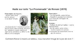 """La Promenade"" de Renoir"