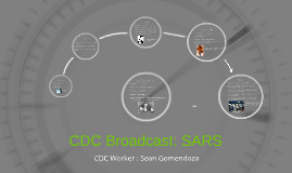 CDC Broadcast: SARS