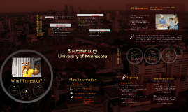 UMN Biostatistics