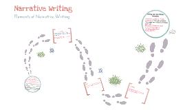 Writing: Narrative Writing Elements