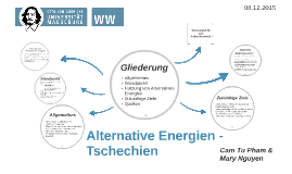 Alternative Energien - Tschechien
