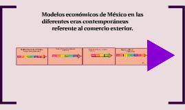 Copy of Línea del Tiempo de los Modelos Económicos de México