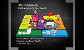 Plan de Empresa Central Lunch