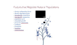 11.3: Factors that Regulate Natural Populations