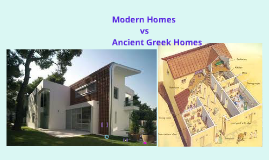 Modern Greek Homes the difference between modern day houses and ancient greece homes