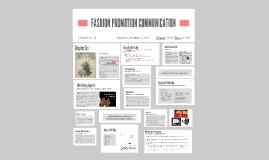 FASHION PROMOTION COMMUNICATION