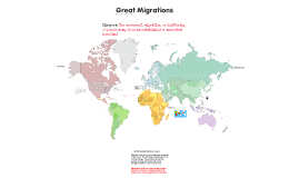 Copy of Great Migrations