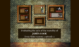 Evaluting the morality of the acts of