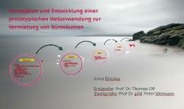 Konzeption und Entwicklung einer prototypischen Webanwendung