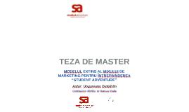 Copy of Modelul extins al mixului de marketing SA