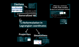Multi-class continuum traffic flow models: Analysis and simulation methods
