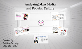 Analyzing Mass Media
