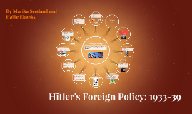 Hitler's Foreign Policy: 1933-39