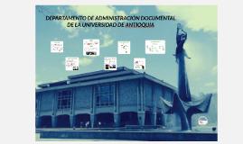 Copy of DEPARTAMENTO DE ADMINISTRACIÓN DOCUMENTAL DE LA UNIVERSIDAD