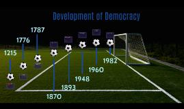 Development of Democracy