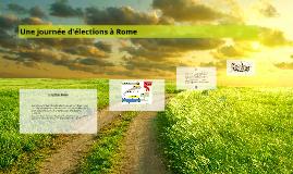 Une journée d'élections à Rome