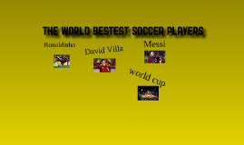 My favorite soccer players