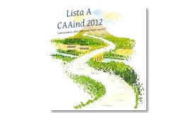 Propuestas CAAInd 2012