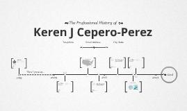 Timeline Prezumé by Keren Cepero