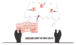 WASTONG GAMIT NG MGA SALITA