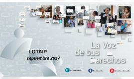 LOTAIP Septiembre 2017