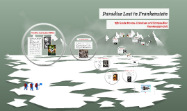 Paradise Lost in Frankenstein