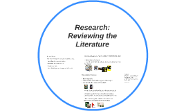 Research: Reviewing the Literature