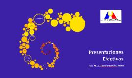 Presentaciones Efectivas (Proyecta-T)