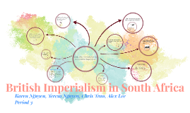 Copy of British Imperialism In south africa