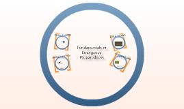 Fundamentals of Emergency Preparedness