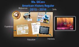Ms. DiCaro