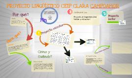 Copy of PROYECTO LINGÜÍSTICO DEL CEIP CLARA CAMPOAMOR (BORMUJOS)