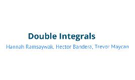 double integrals ramsaywak