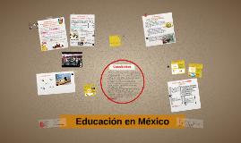 Copy of Educación en México